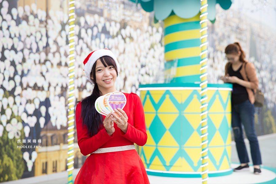 高雄 夢時代 愛.Sharing 2016 聖誕節 夢想起飛 聲光表演