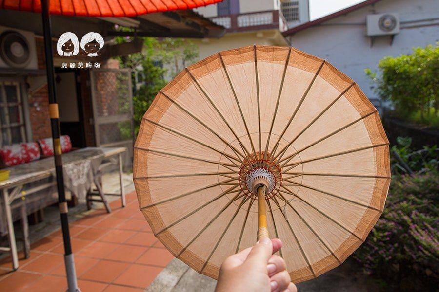 美濃紙傘的竹架