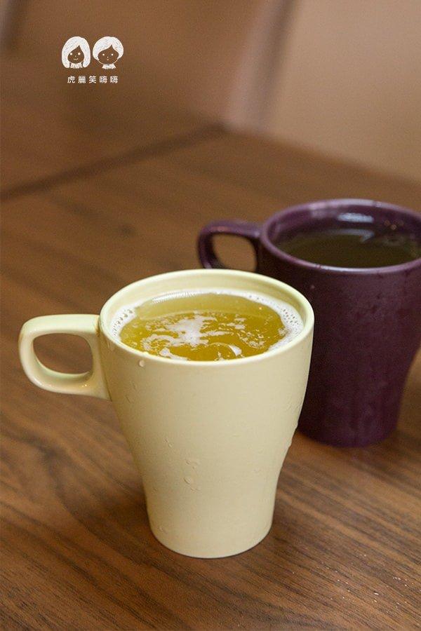 泰一生活美食館 附餐飲料 蜜茶與香茅綠茶