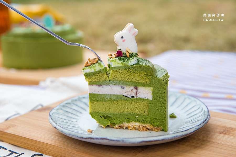 兔思糖 法式甜點(高雄美食)獨家手作甜品!超濃丸久小山園真抹茶,萌萌的低糖造型馬卡龍