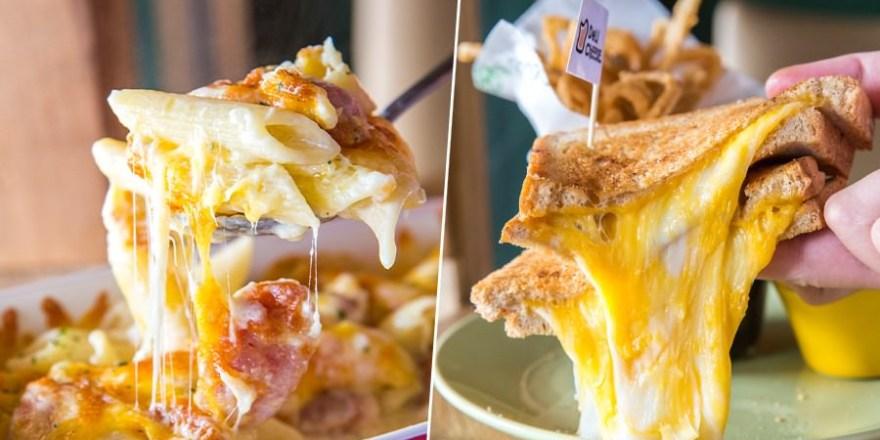 Deli & Cheese(高雄)平價美式餐廳,必吃超犯規爆漿起司