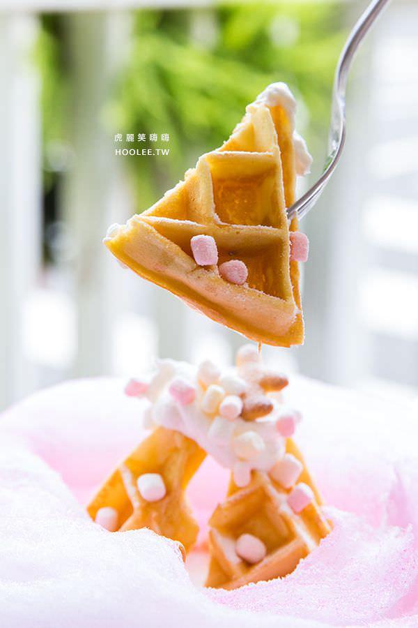 雅米廚房 高雄 當月壽星生日雲朵鬆餅
