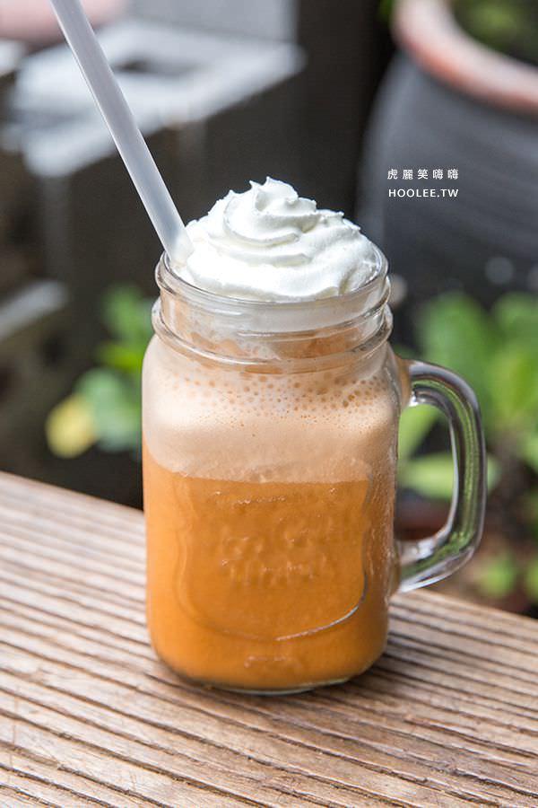 沐濛 創意美式 高雄早午餐 季節限定 手標泰式奶茶冰沙 NT$140