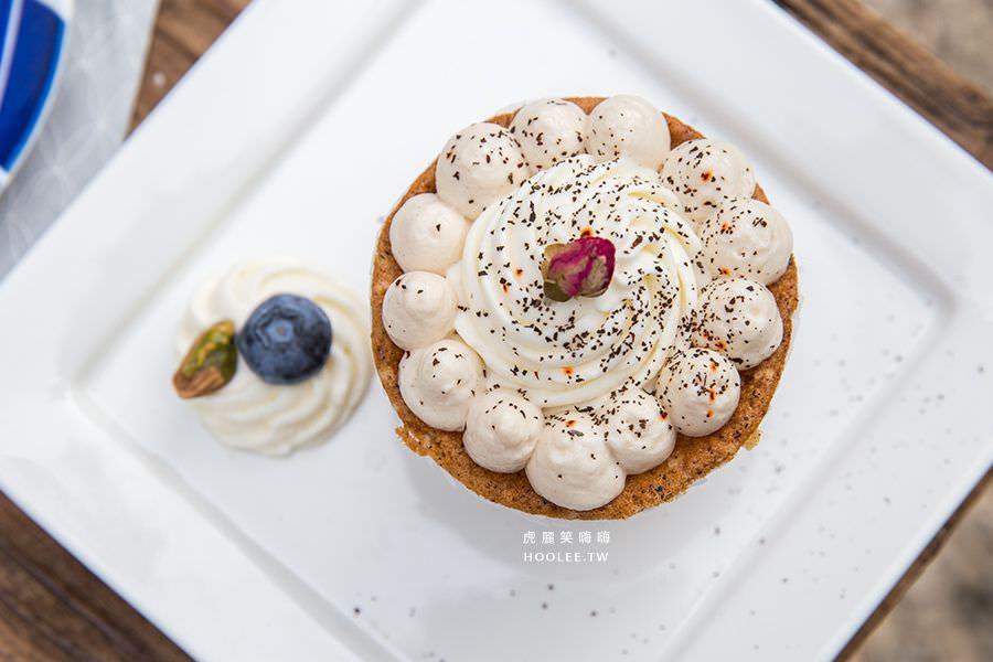吉米夢 綠食咖啡館 橋頭糖廠 奶油磅蛋糕 NT$75