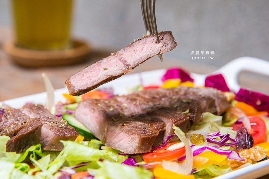 叁食壹 高雄 西子灣 哈瑪星 老屋餐廳 養肌嫩煎牛排 NT$160