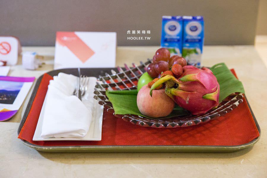 Lexis Suites Penang 檳城住宿推薦 檳城麗昇套房 迎賓水果