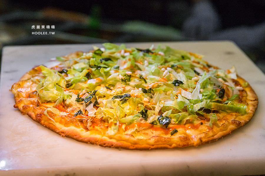 捷絲旅 蔬食百匯 Double Veggie 高雄素食吃到飽 韓式泡菜披薩