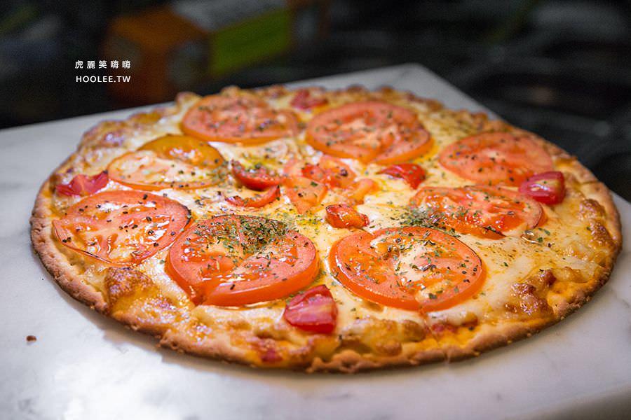 捷絲旅 蔬食百匯 Double Veggie 高雄素食吃到飽 雙層乳酪瑪格麗特披薩