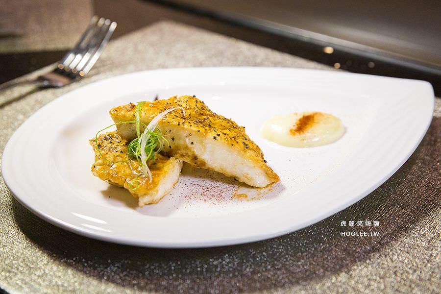 松悅鐵板燒 高雄鐵板燒推薦 深海鮮香龍鱈魚