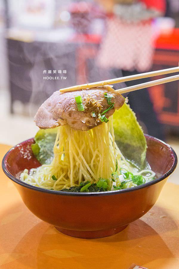 夢時代日本美食暨工藝展 拉麵大尊 豚骨魚介醬油拉麵 NT$200
