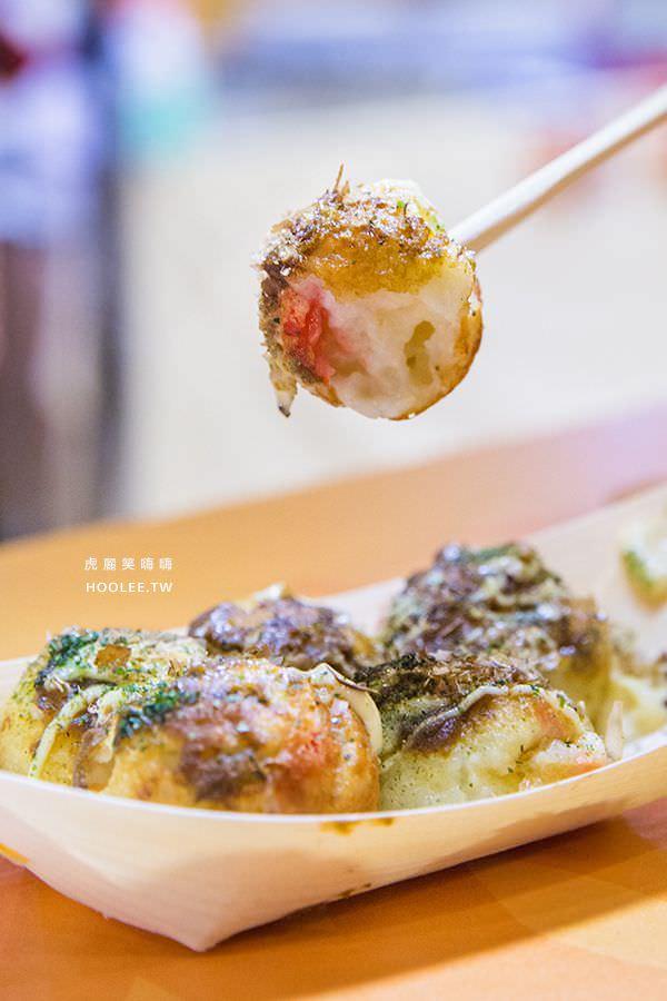 夢時代日本美食暨工藝展 福寿庵 章魚燒(哇沙米口味)NT$120