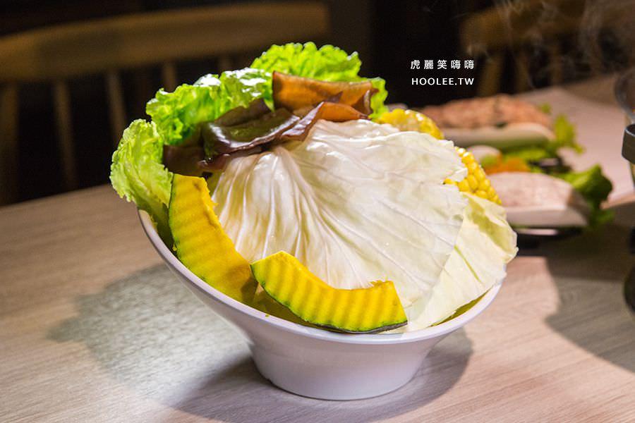 愛食鍋麻辣鴛鴦鍋 高雄火鍋推薦 蔬菜拼盤 NT$198