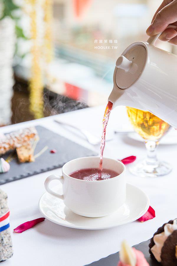 安多尼歐法式餐廳 高雄約會餐廳 藍莓果茶
