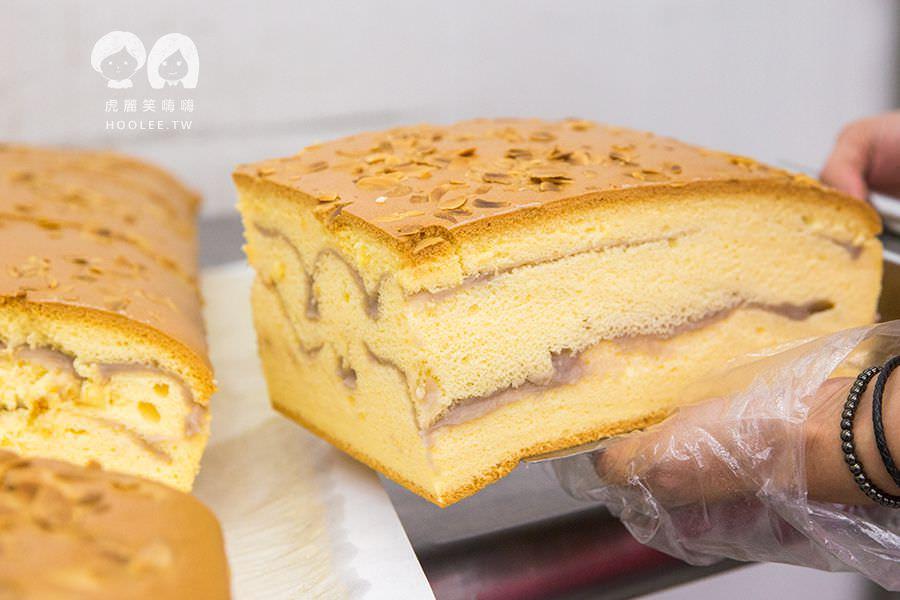 大川本舖古早味現烤蛋糕 高雄古早味蛋糕 推薦 芋泥杏仁 NT$135