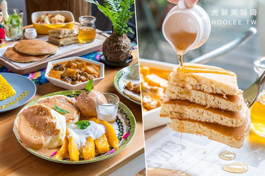 烏拉森林歐式咖啡鬆餅屋(高雄)巷弄裡森林小屋!異國特色風味料理,經典鹹食鬆餅與泰泰好芒舒芙蕾