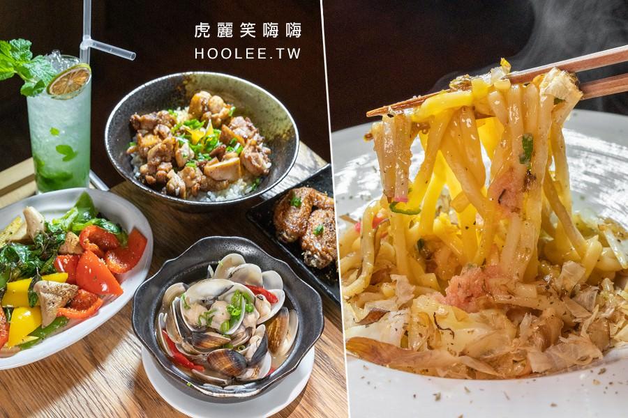驀然日式餐酒館(高雄)宵夜小酌好去處!推薦明太子烏龍麵,海鮮必點酒蒸蛤蜊和香辣蝦