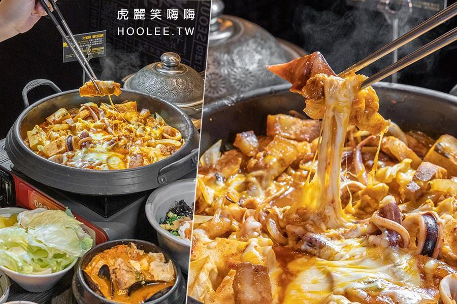 玉豆腐韓式料理(高雄)光華家樂福店新開幕!銷魂起司泡菜魷魚炒豬五花,必點辣醬牛肉包生菜