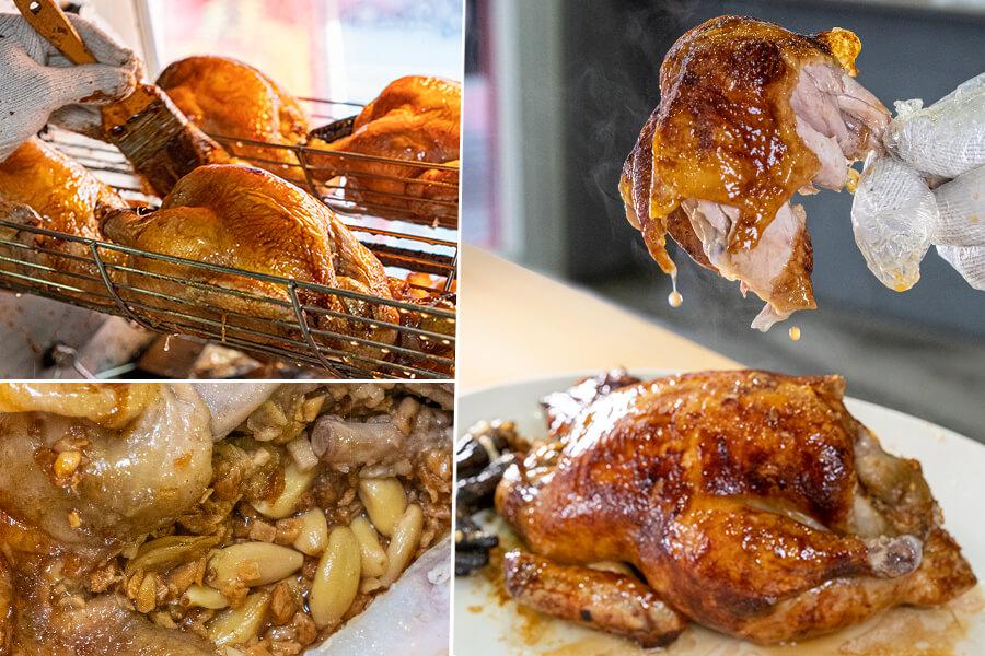 太上黃專業手扒雞(高雄)香噴噴多汁烤雞!每日限量的現烤金黃蒜香雞,大份量3斤重超過癮