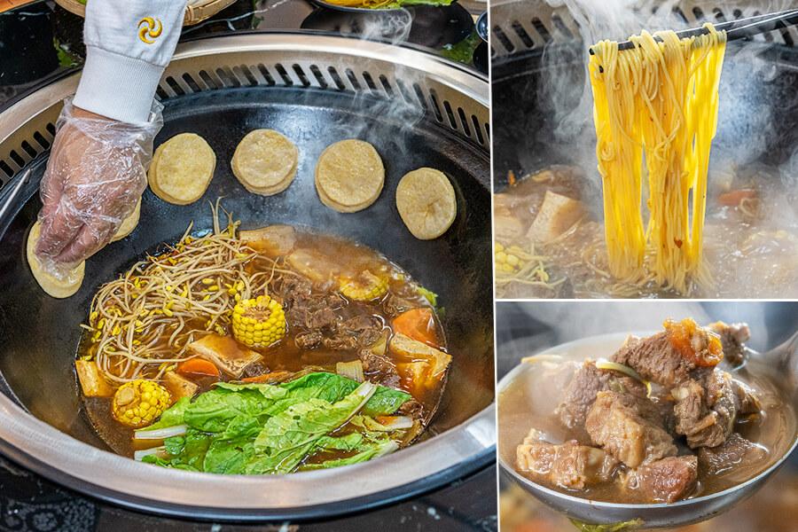 小媳婦鐵鍋燉(高雄)來自東北的家常料理!香濃牛腩鐵鍋燉煮玉米麵,必吃熱騰騰貼鍋的玉米餅
