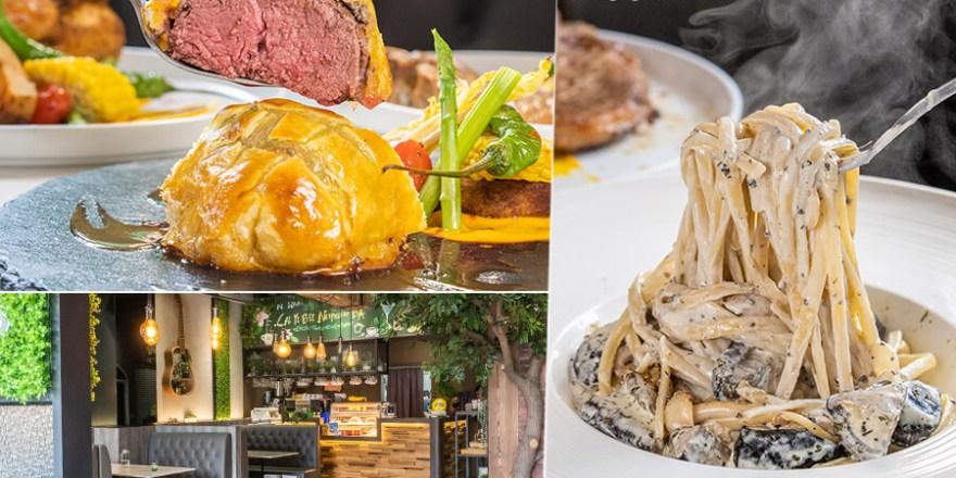 Green餐廳(高雄)叢林風約會聚餐!必吃松露義大利麵及丁骨豬排,每日限量威靈頓牛排