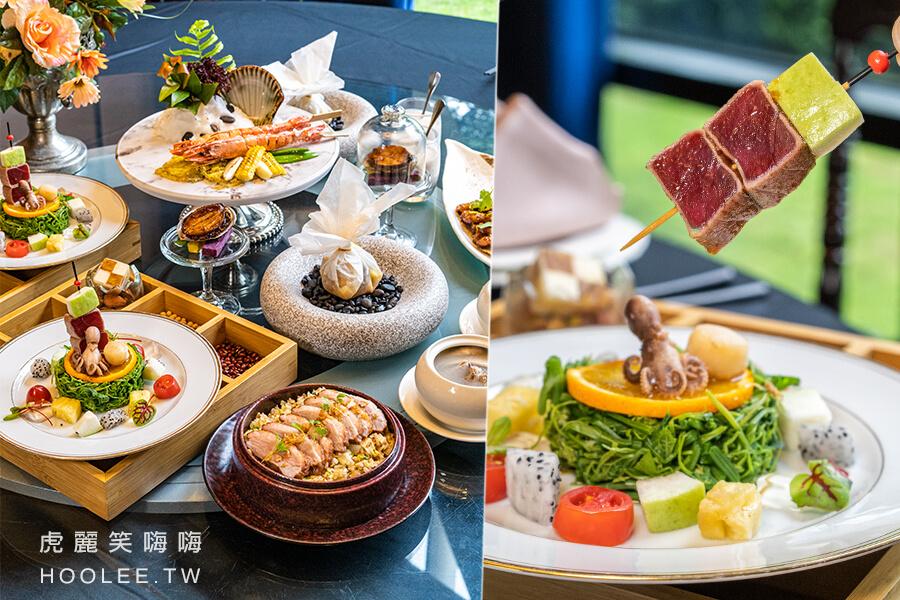 老新台菜 十全店(高雄)雙人約會套餐!櫻桃鴨肉飯無菜單料理,還有東港鮪魚及煙燻鮑魚海陸美味一次滿足