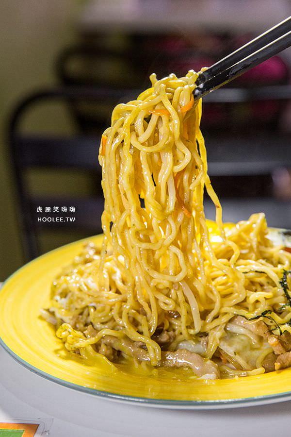 豚丼 日式炒麺 丼飯 日式炒麵 NT$75