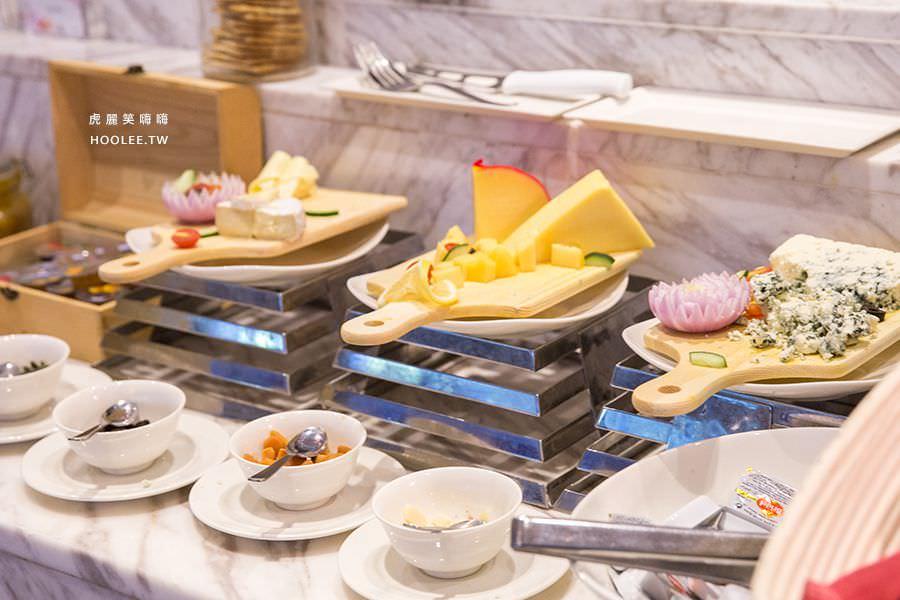 檳城住宿推薦 檳城麗昇套房 早餐 自助吧