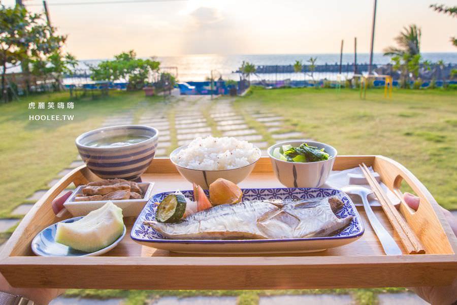 意滿漁(高雄)超美夕陽海景小秘境,約會景點!推薦必吃鹽烤鯖魚全餐