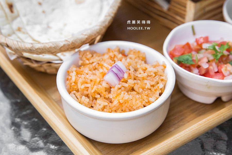 米卡希達墨西哥餐廳 高雄 海鮮總匯法仕達 NT$348 附蕃茄紅飯、餅皮、NT$60飲品(或補差額升級)