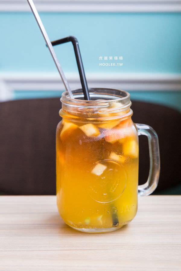 Poppy Waffle 高雄早午餐 水果茶(冰)