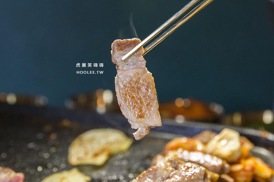 水刺床韓式烤肉餐廳 高雄韓式烤肉 帶骨豬肋排