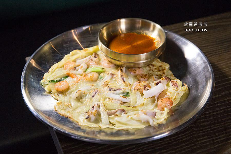水刺床韓式烤肉餐廳 高雄韓式烤肉 海鮮煎餅