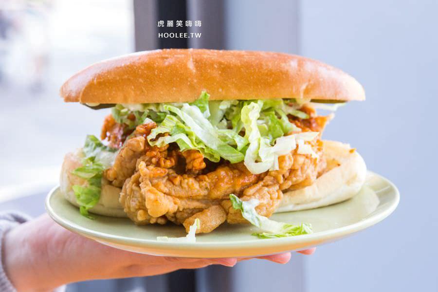 脆司肯美式炸雞 巨無霸辣醬雞腿堡 NT$109