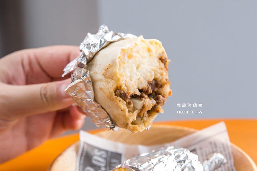 脆司肯美式炸雞 墨西哥牛肉起司燉飯捲餅 NT$65
