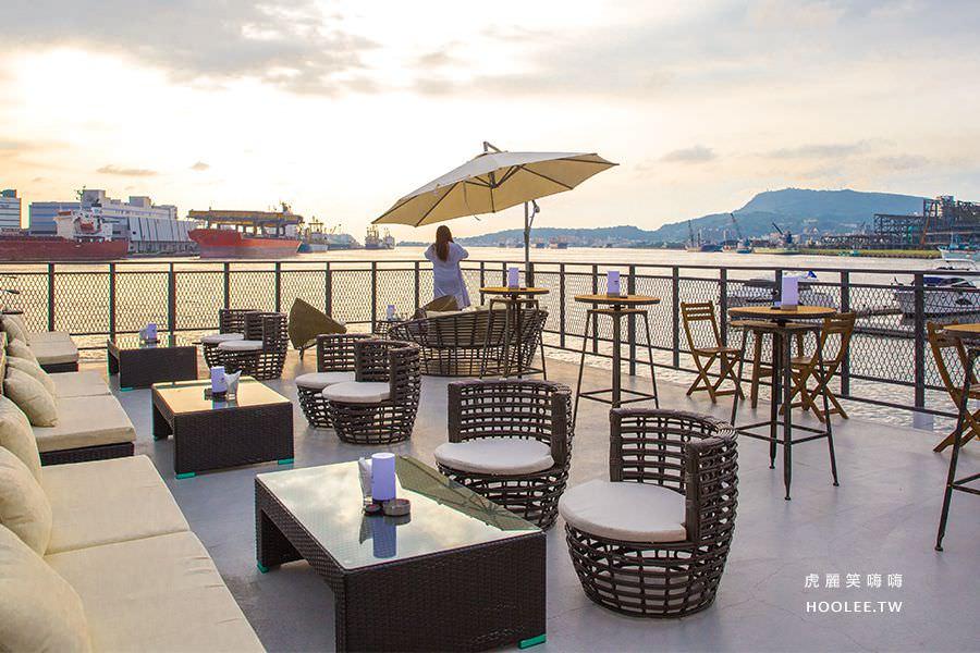 鯊加碼頭餐廳(高雄)預約制露天景點,海景約會!看夕陽拍美照的新去處