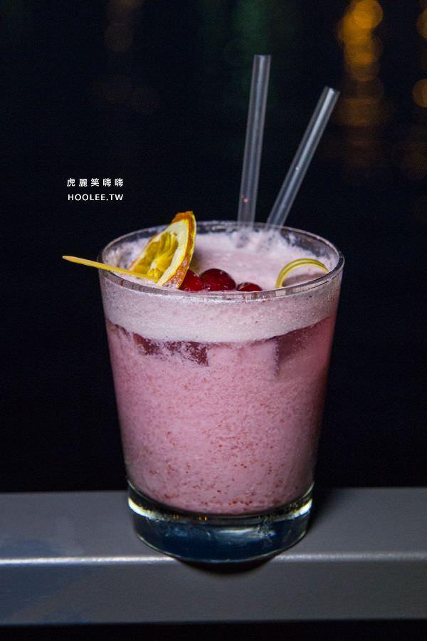 鯊加碼頭餐廳 Sauga 高雄約會 海景 夕陽 餐廳 Nectar of gods NT$250 (莓果)