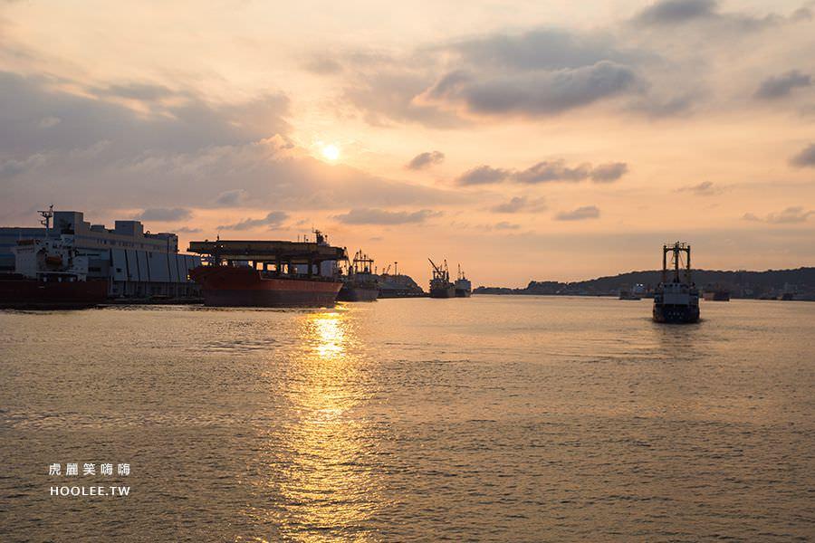 鯊加碼頭餐廳 Sauga 高雄約會 海景 夕陽 餐廳
