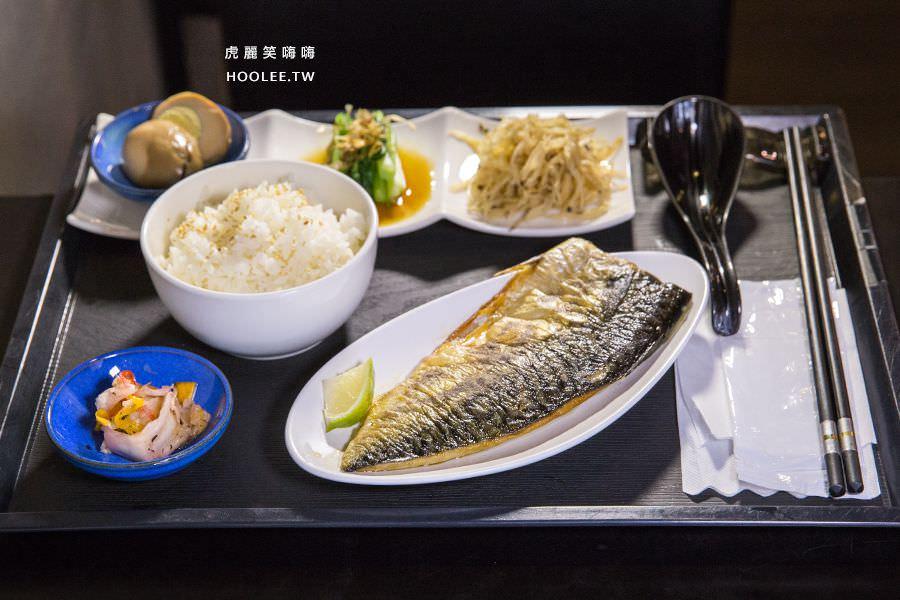 靖品食軒 高雄 商業午餐 鯖魚定食 NT$150