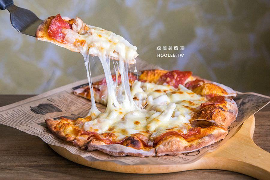 喬義思窯烤手作廚房 楠梓美食 海陸大滿貫Pizza 單點NT$219