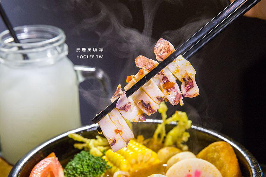 泰燒異國鍋燒 高雄 泰式酸辣海鮮麵 NT$190 + 升級套餐 NT$59