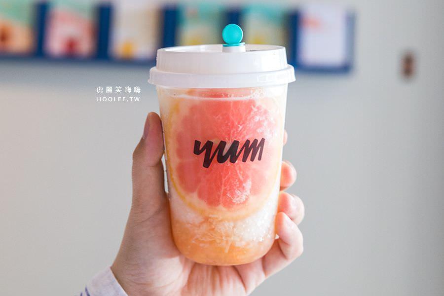 泱茶 YUMTEA 高雄飲料推薦 泱泱鮮柚 M杯 NT$65