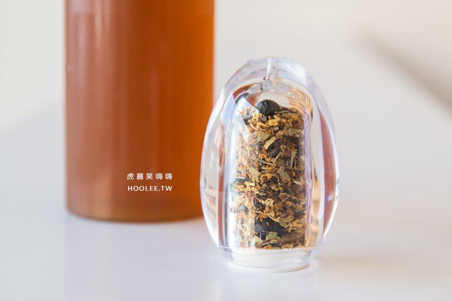 黑豆茶兒良拌·涼拌 高雄飲料推薦 纖黛茶(桂花+黑豆)NT$40