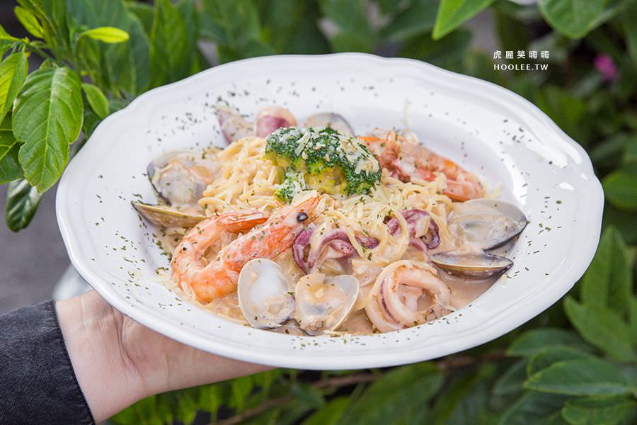 Q比Kitchen 高雄 奶油海鮮義大利麵 NT$150