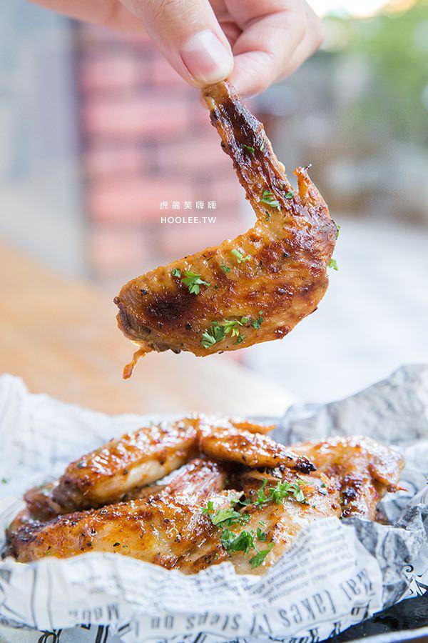 黑浮咖啡 高雄咖啡廳 西岸香料辣烤雞翅 NT$220
