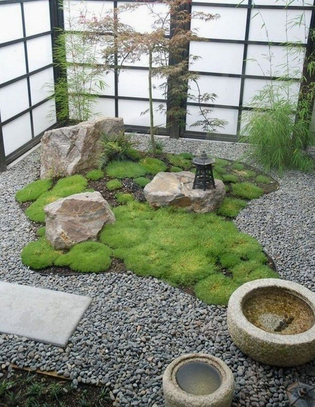 Beautiful Modern Rock Garden Ideas For Backyard Landscaping 11