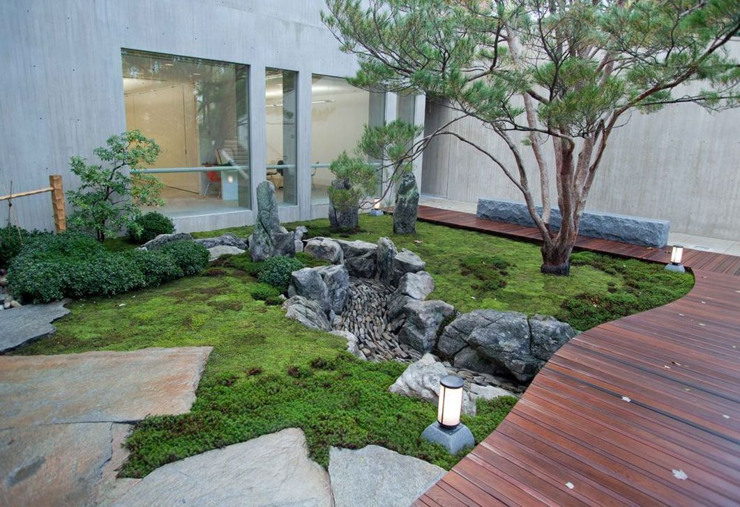Beautiful Modern Rock Garden Ideas For Backyard Landscaping 15