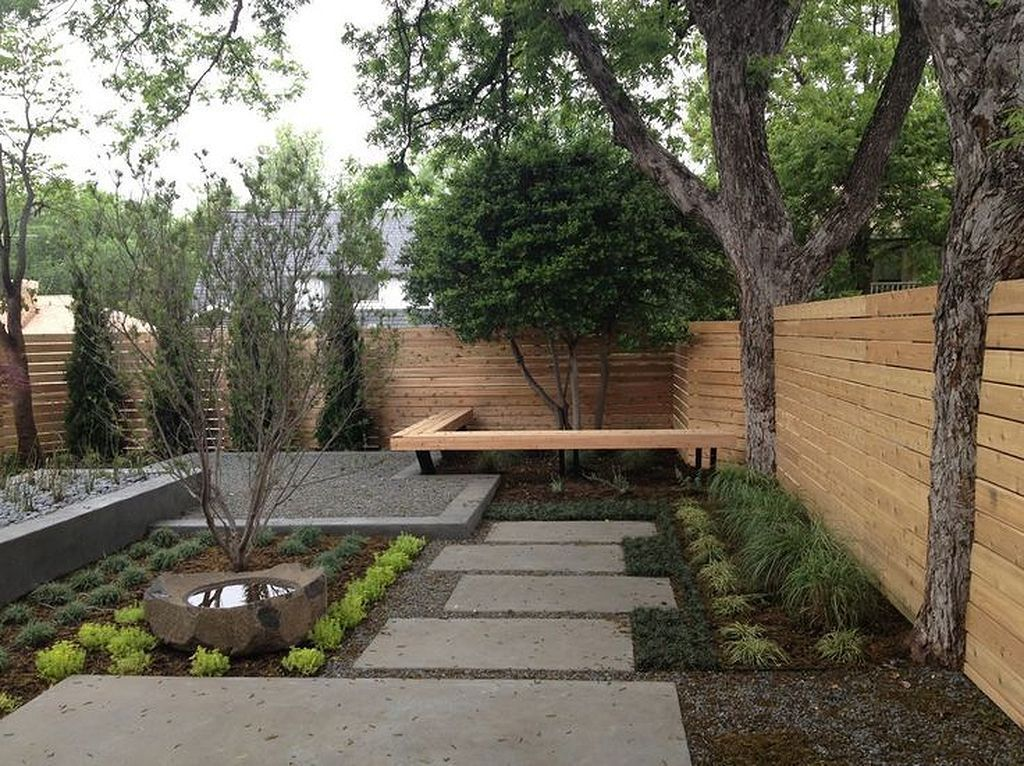 Beautiful Modern Rock Garden Ideas For Backyard Landscaping 27