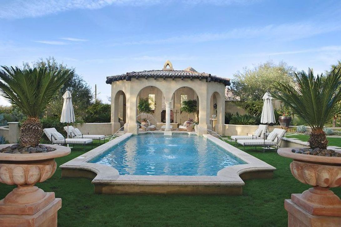 The Best Mediterranean Swimming Pools Out Of Your Dream 05