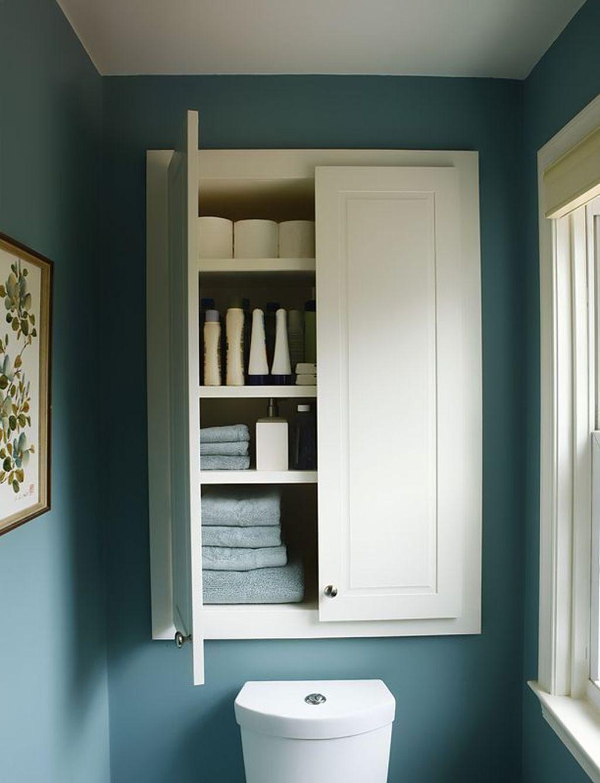 Amazing Bathroom Storage Design Ideas For Small Space 06