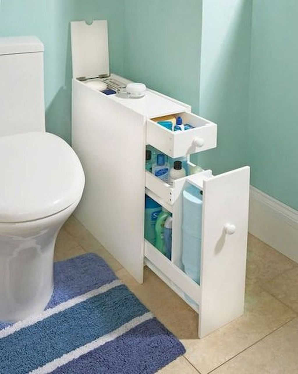 Amazing Bathroom Storage Design Ideas For Small Space 10